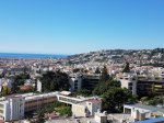 NICE GAIRAUT  4 PIECES TERRASSE PISCINE GARAGE VUE MER PANORAMIQUE